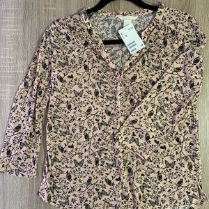 H&M blouse, 3/4 sleeve, NWT
